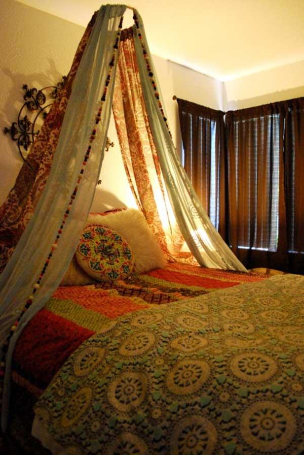 20 Magical DIY Bed Canopy Ideas Will Make You Sleep ... on Cheap:l2Opoiauzas= Bedroom Ideas  id=53958