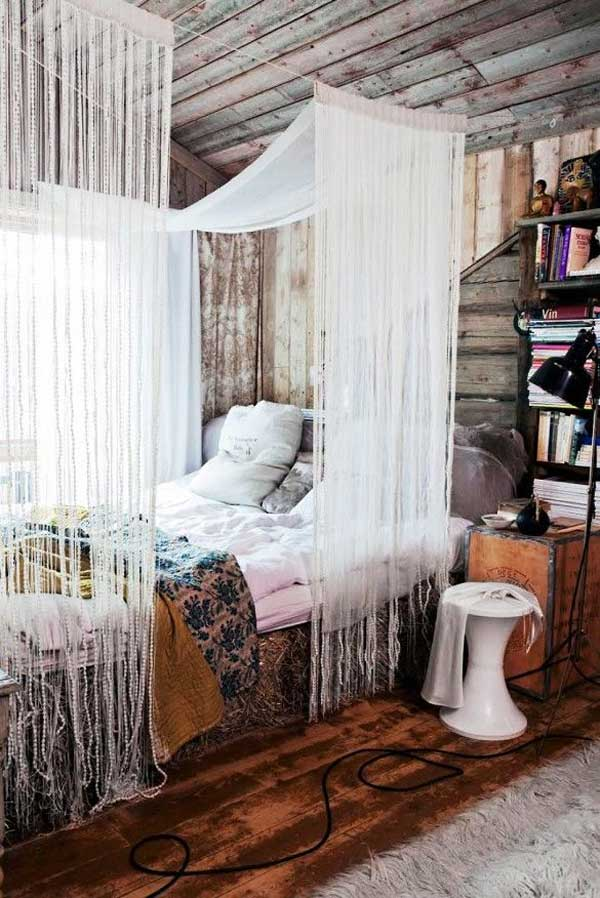 Nicole franzen having a small space may burden you with more storage issues than your nei. 20 Magical DIY Bed Canopy Ideas Will Make You Sleep
