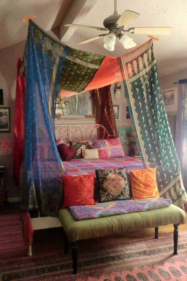 20 Magical DIY Bed Canopy Ideas Will Make You Sleep ... on Cool:gixm0H5Sni4= Bedroom Ideas  id=68841
