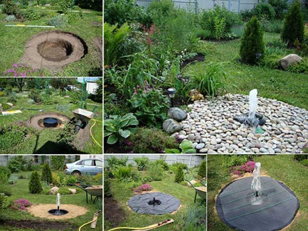 25+ DIY Water Features Will Bring Tranquility & Relaxation ... on Water Feature Ideas For Patio id=74905