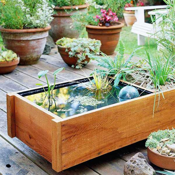 25+ DIY Water Features Will Bring Tranquility & Relaxation ... on Water Feature Ideas For Patio id=99088