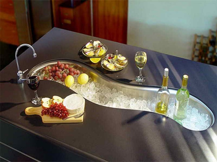 15+ Creative & Modern Kitchen Sink Ideas | Architecture ... on Kitchen Sink Ideas  id=50529