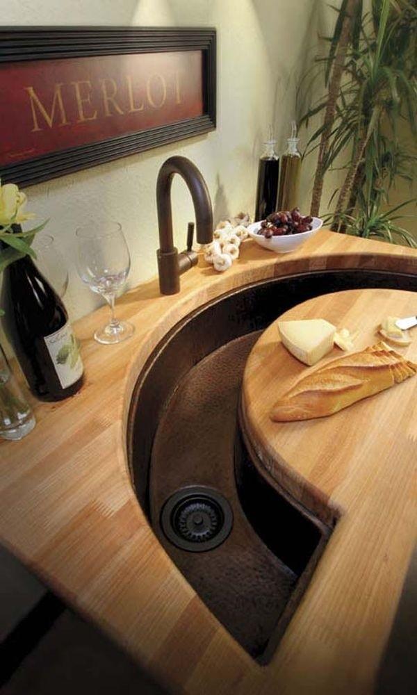 15+ Creative & Modern Kitchen Sink Ideas | Architecture ... on Small:jdu_Ojl7Plw= Kitchen Remodel Ideas  id=94656