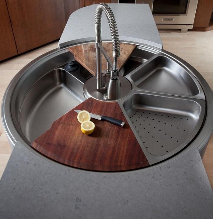 15+ Creative & Modern Kitchen Sink Ideas | Architecture ... on Kitchen Sink Ideas  id=34036