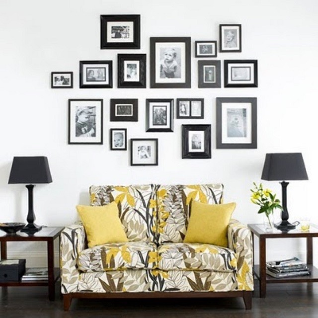 Wall Photo Frame Set Of 8pcs Home Decoration Picture Frames Modern Design Painting Wedding