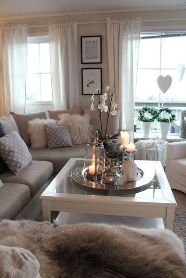 Coffee Table Decorating Ideas Varying Heights