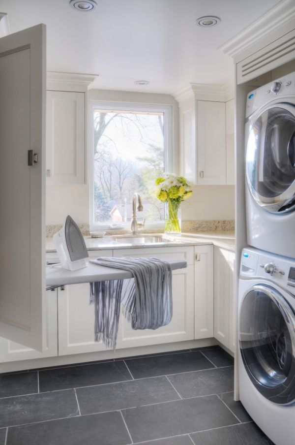 60 Clever Laundry Room Design Ideas To Inspire You ... on Laundry Room Decor Ideas  id=52144