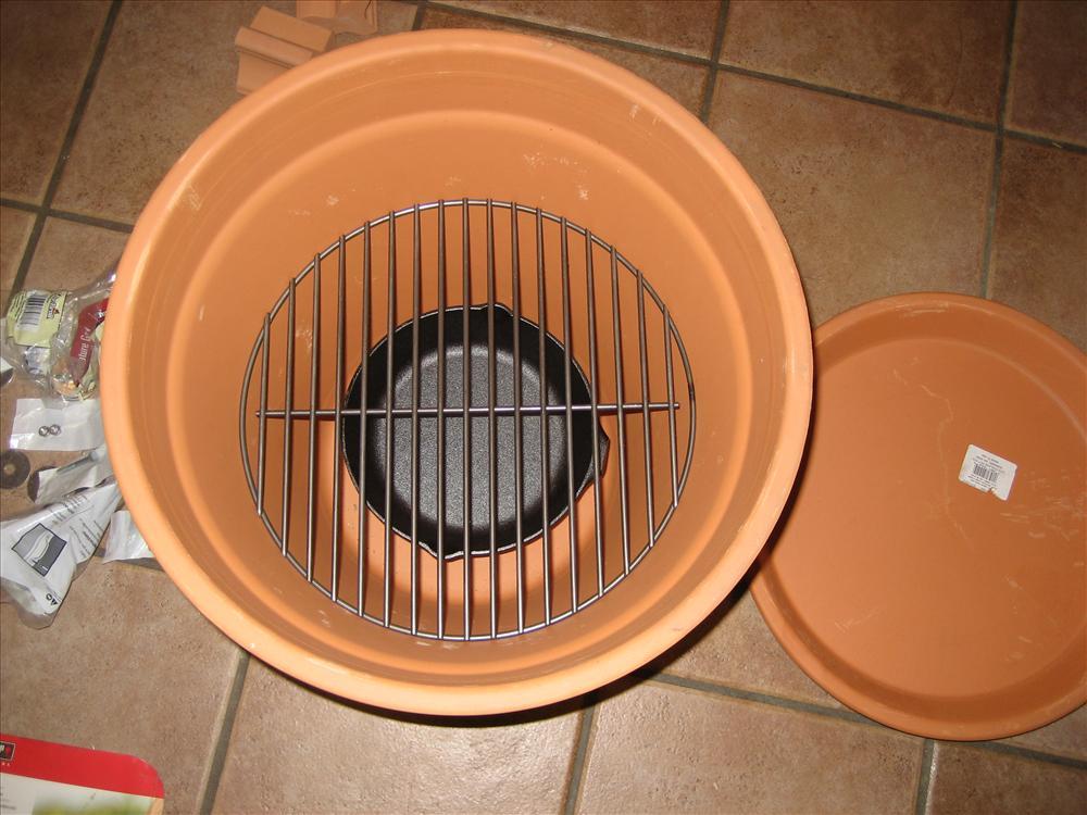 Diy Outdoor Cooker How To Build A Clay Pot Smoker