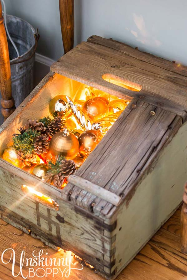 25 Ideas To Decorate Your Home With Recycled Wood This Christmas Architecture Amp Design