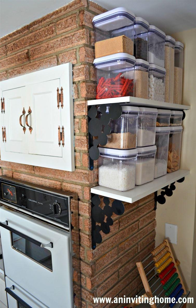 Pull Kitchen Storage Down