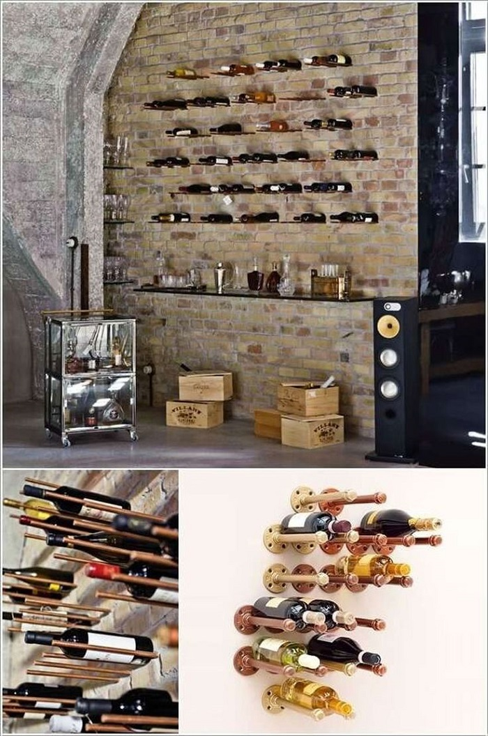 25 Cool DIY Metal Pipe Projects For Your Home