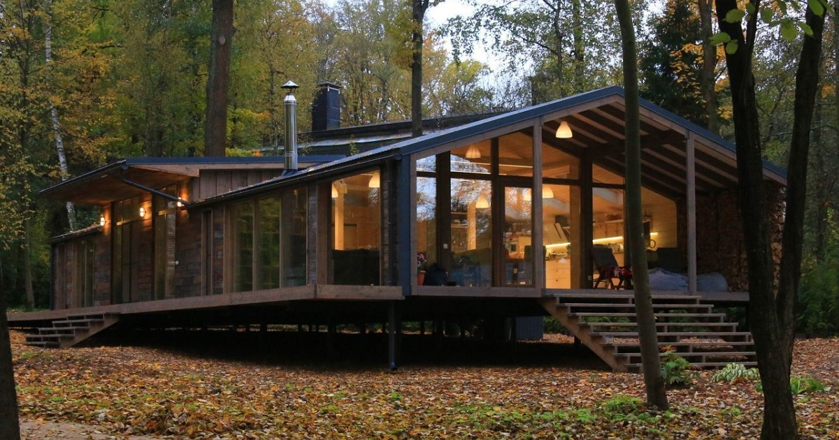 This Prefab Cabin Was Built In 10 Days For Only 80 000