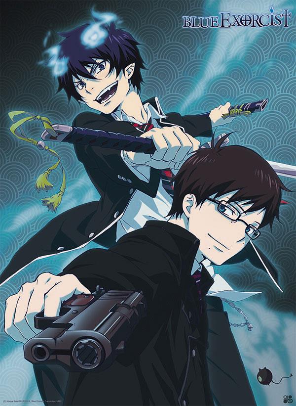 blue exorcist poster rin yukio 52x38