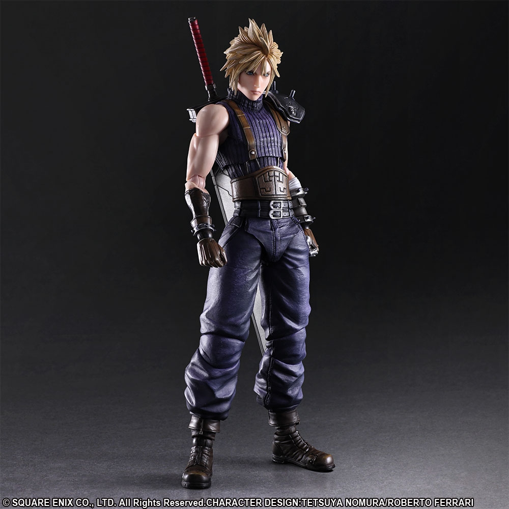 Final Fantasy VII Remake Play Arts Kai Action Figure