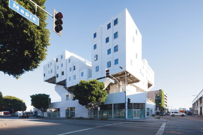Michael Maltzan Architectureâ S Star Apartments In Los Angeles Will Serve As A Model