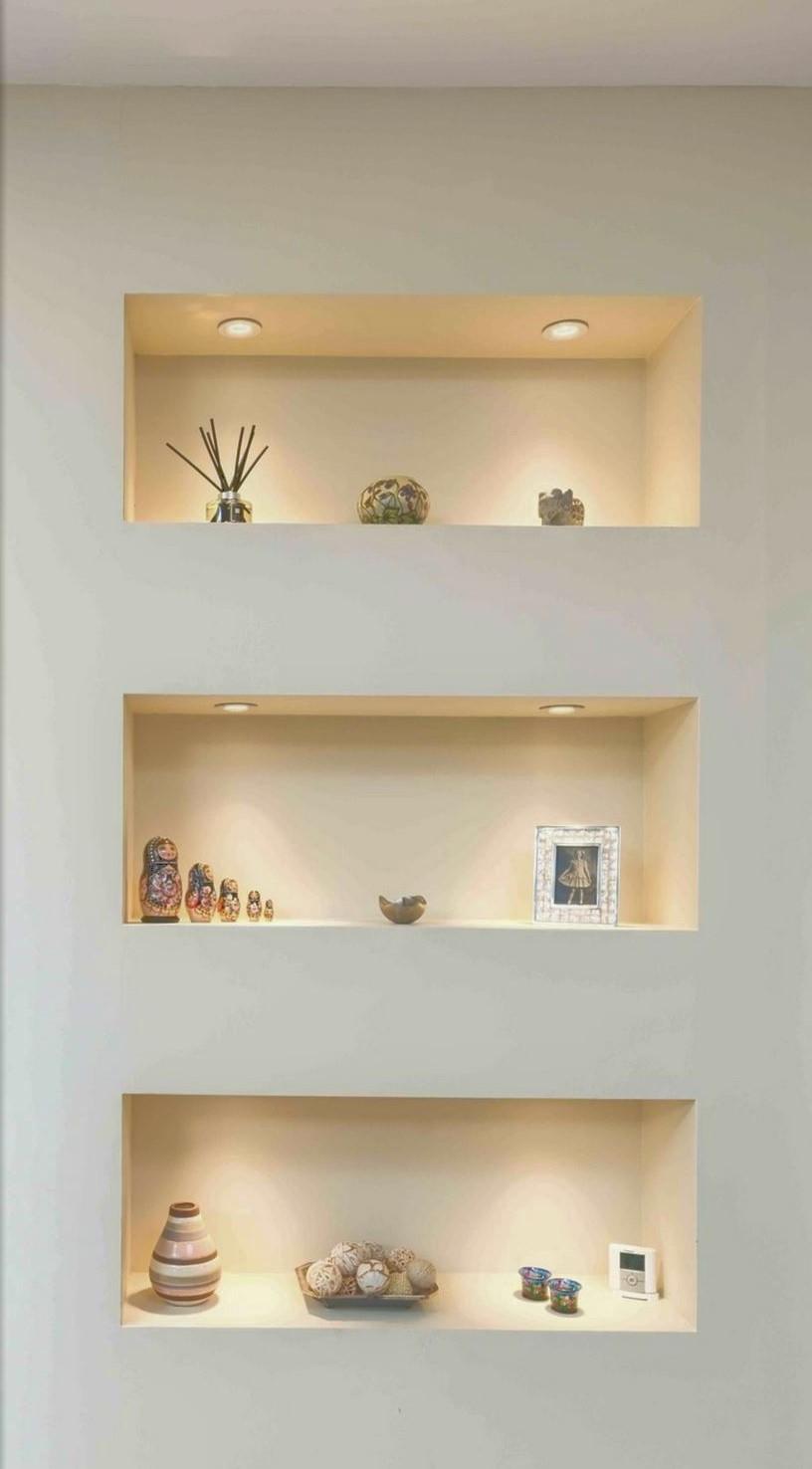 3) librerie e pareti attrezzate in cartongesso. La Parete Attrezzata