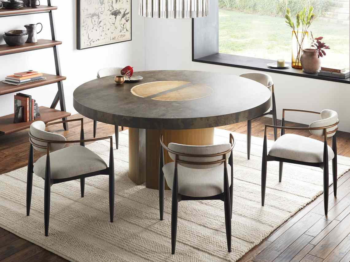 Jagger Dining Arm Chair In Mixology Arhaus
