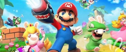 Bannière - [Arrivages] Jeu et grande figurine Mario + The Lapins Crétins Kingdom Battle