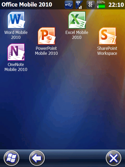 First Look Office Mobile 2010 For Windows Mobile 6 X
