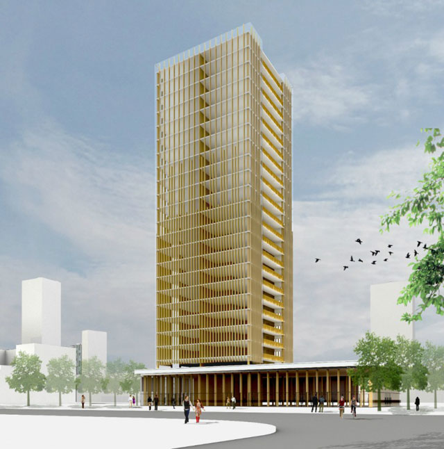 Wood 2 0 Mass Timber And The Tall Buildings Of Tomorrow