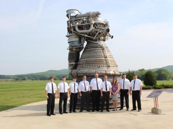 """Saturn V """"moon rocket"""" engine firing again after 40 years ..."""