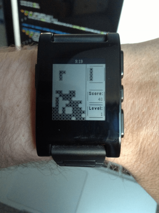 Time For Some Games Tetris Pong Clones Hit Pebble Smart