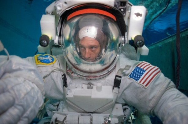 Walking a mile in a real NASA astronaut's underwater shoes ...
