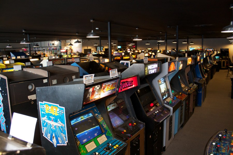 A visit to Galloping Ghost  the largest video game arcade in the USA     Enlarge