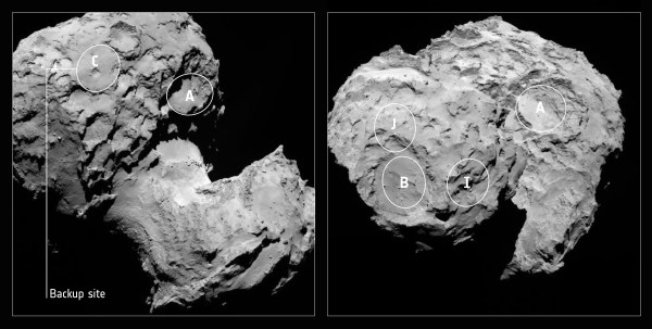 Rosetta scientists choose site for first landing on a ...