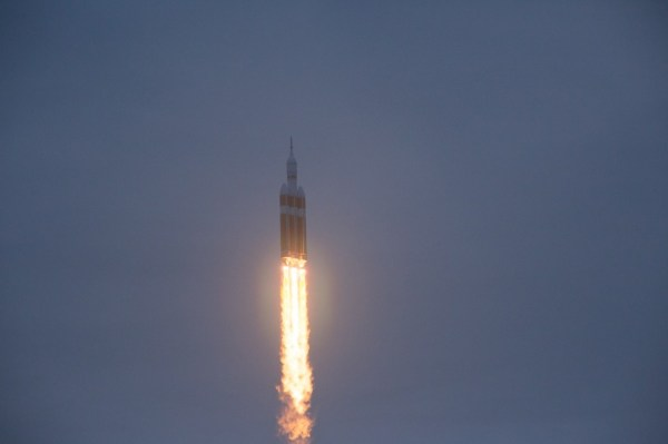 Second time's the charm—NASA's Orion EFT-1 blasts off from ...