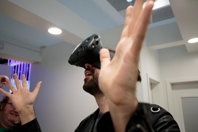 Sebastian saw the light in the HTC/Valve Vive VR headset