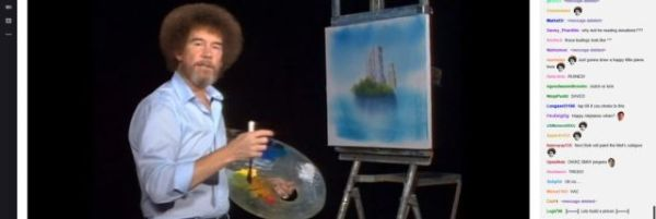Twitch's Bob Ross marathon is the most beautiful thing the ...