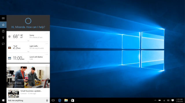 Cortana Web Searches In Windows 10 Will Now Only Be Able