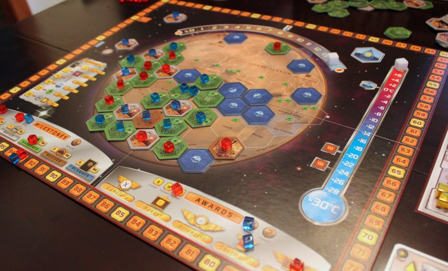Terraforming Mars review  Turn the    Red Planet    green with this     Enlarge