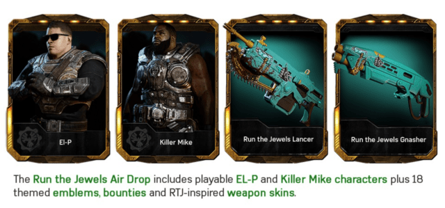 """""""Eighteen"""" gun skins that all look the same? You better really like that color if you pony up for this DLC pack."""