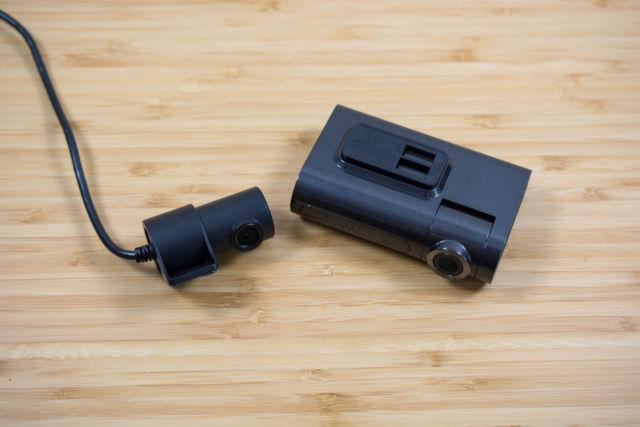 DDPai X2 Pro main and rear dash cams.