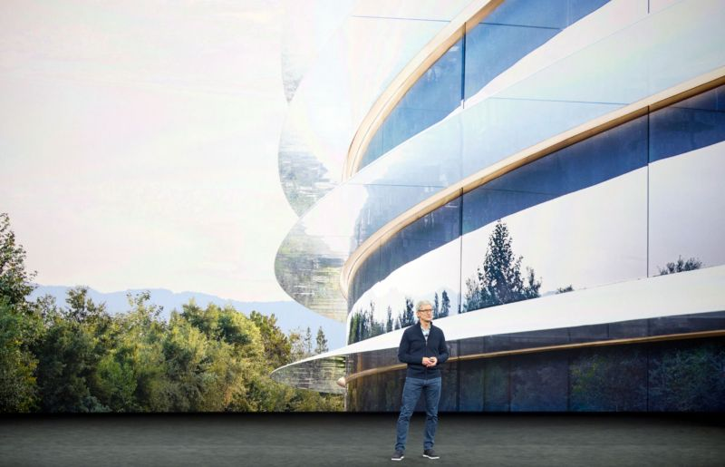 I Walked Into A Glass Door 911 Recordings From Apples New Campus