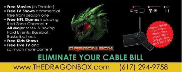 A Dragon Box ad.