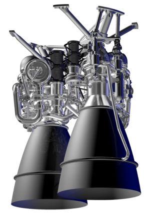 A rendering of Aerojet