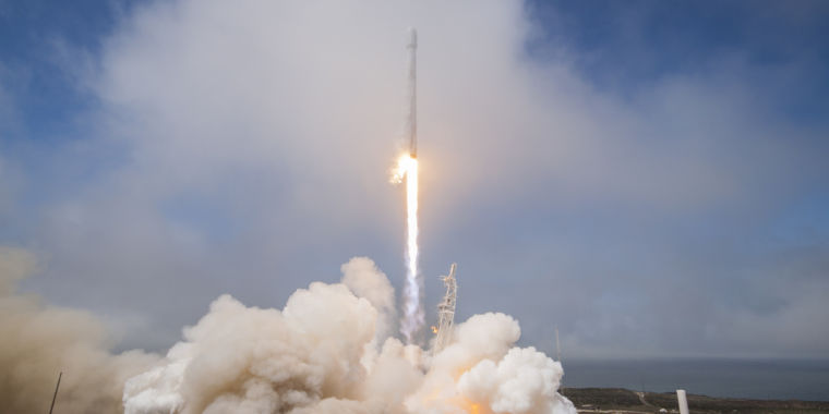 Spacex Launch Last Year Punched Huge Temporary Hole In