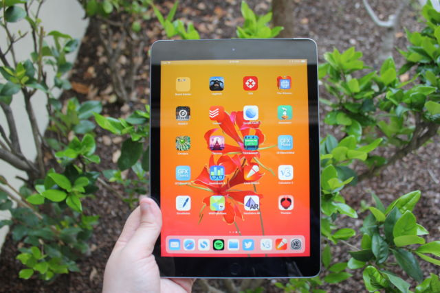 The 2018 Apple iPad.