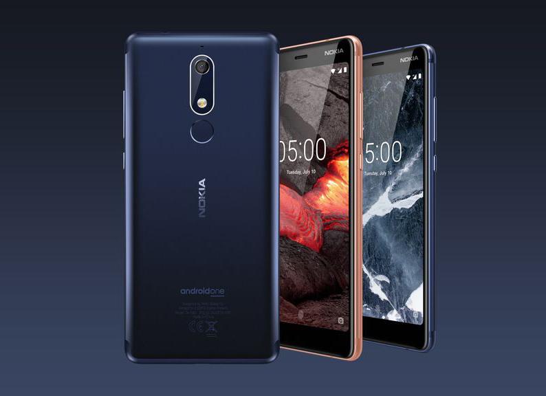 The Nokia 5.1.