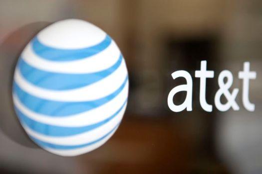 An AT&T logo.