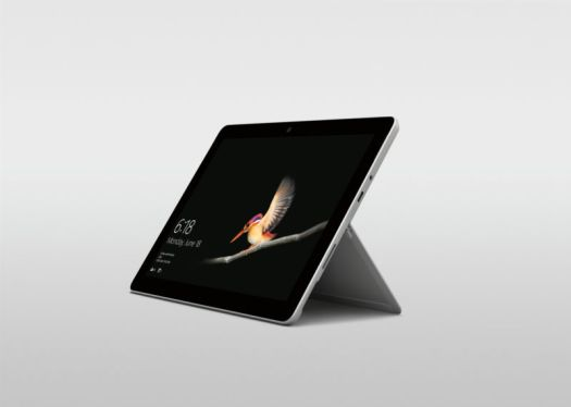 Promotional image of a tablet device.