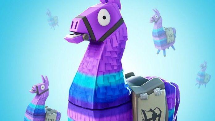 Purple cartoon donkey piñata.