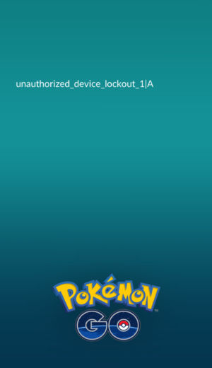 "The error message shown when trying to play <em>Pokemon Go</em> on an Android device with an empty ""MagiskManager"" folder."