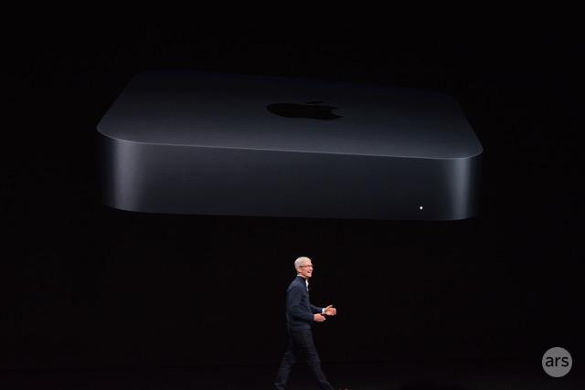 Apple finally announces an overhauled Mac mini
