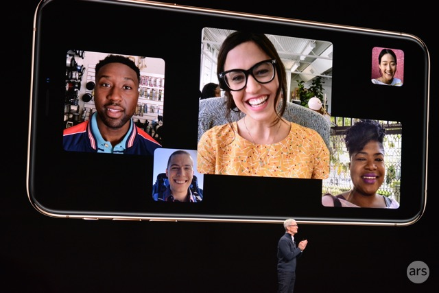 Group Facetime for up to 32 simultaneous participants, coming to iOS 12.1.