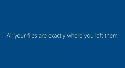 This message, shown during Windows upgrades, is going to be salt in the wound.