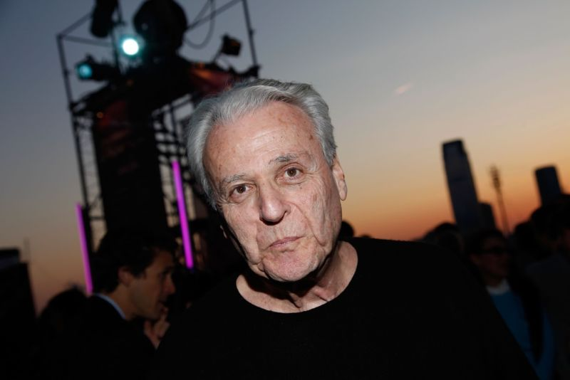 Screenwriter William Goldman attends a special screening of <em>Butch Cassidy and the Sundance Kid</em> at Tribeca Film Festival in April 2009.
